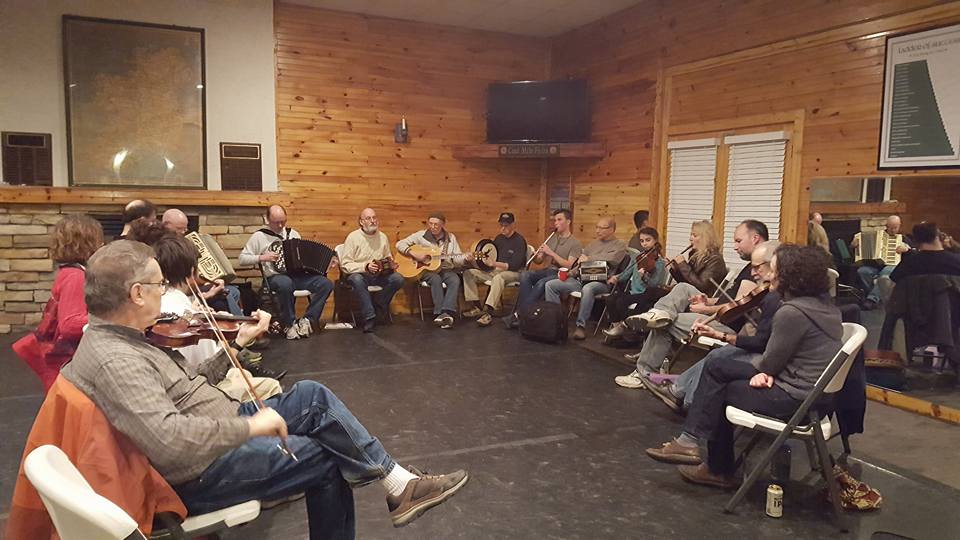 Musical Sessions at the Irish Centre of Pittsburgh