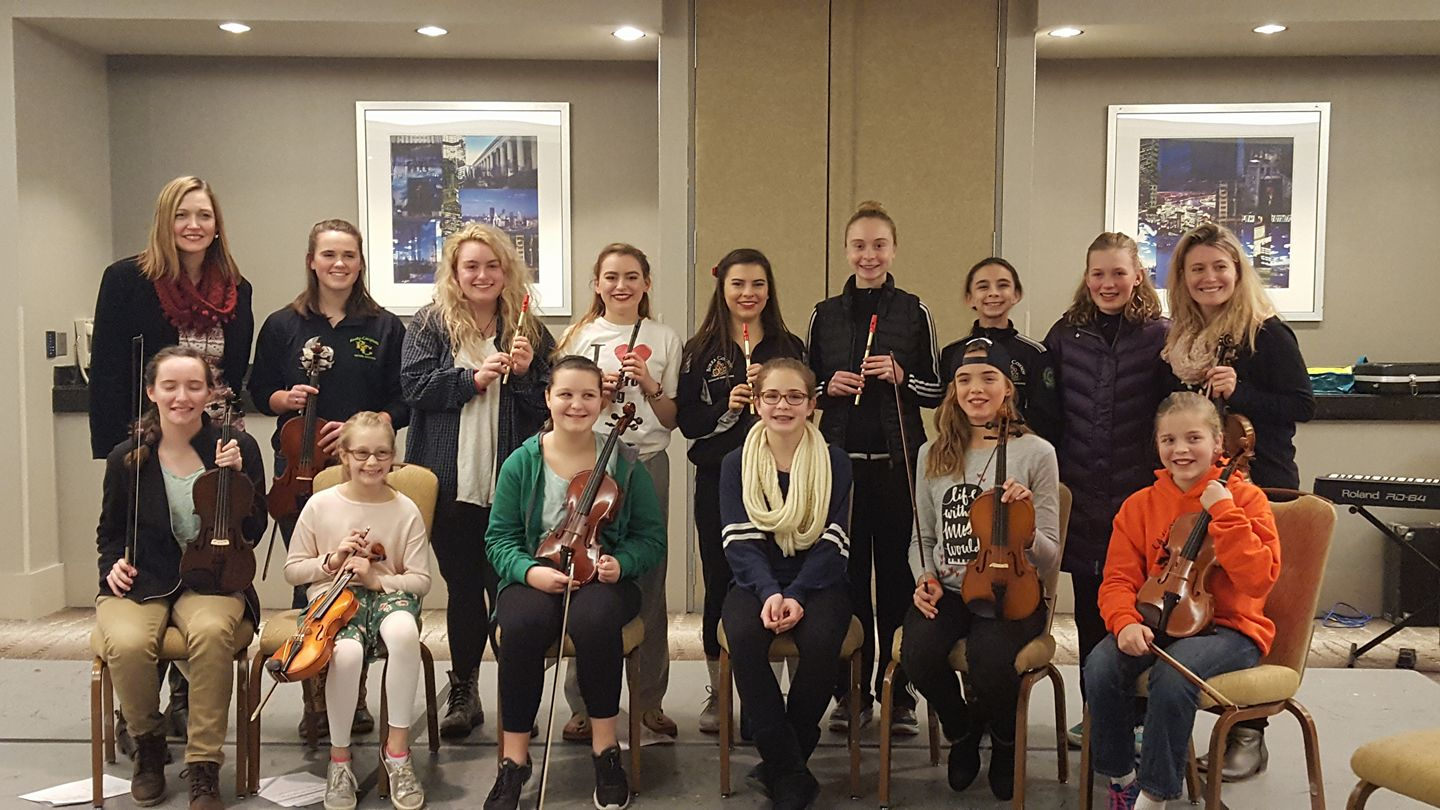 Fiddle & Tin Whistle Workshops